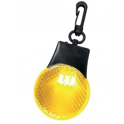 Odblaskowy brelok z diodami LED
