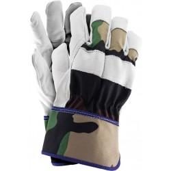 Rękawice wzmacniane skórą RForester