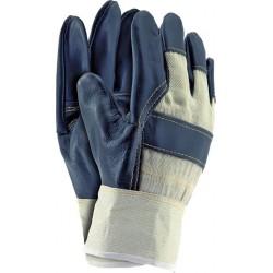 Rękawice wzmacniane skórą RL