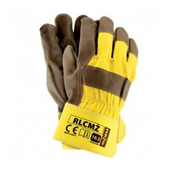 Rękawice wzmacniane skórą RLCMŻ
