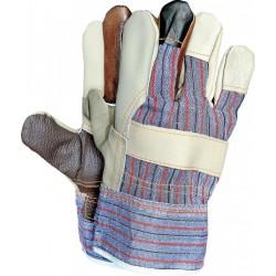 Rękawice wzmacniane skórą RLKPAS
