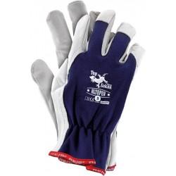 Rękawice wzmacniane skórą RLtoper