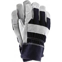 Rękawice wzmacniane skórą RB